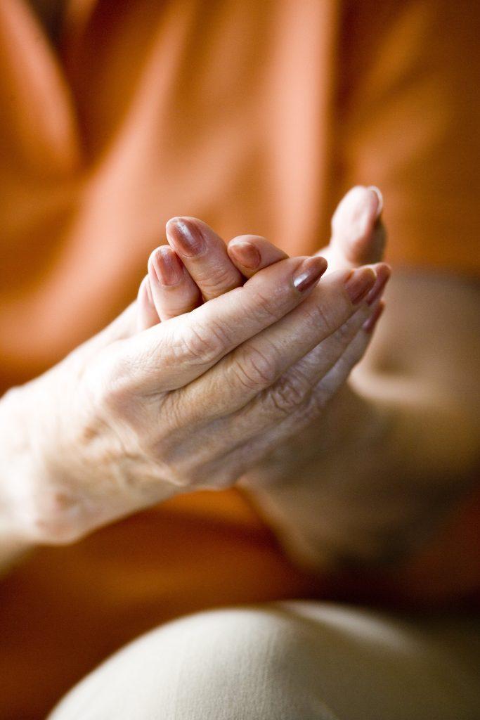 Woman Hands Arthritis