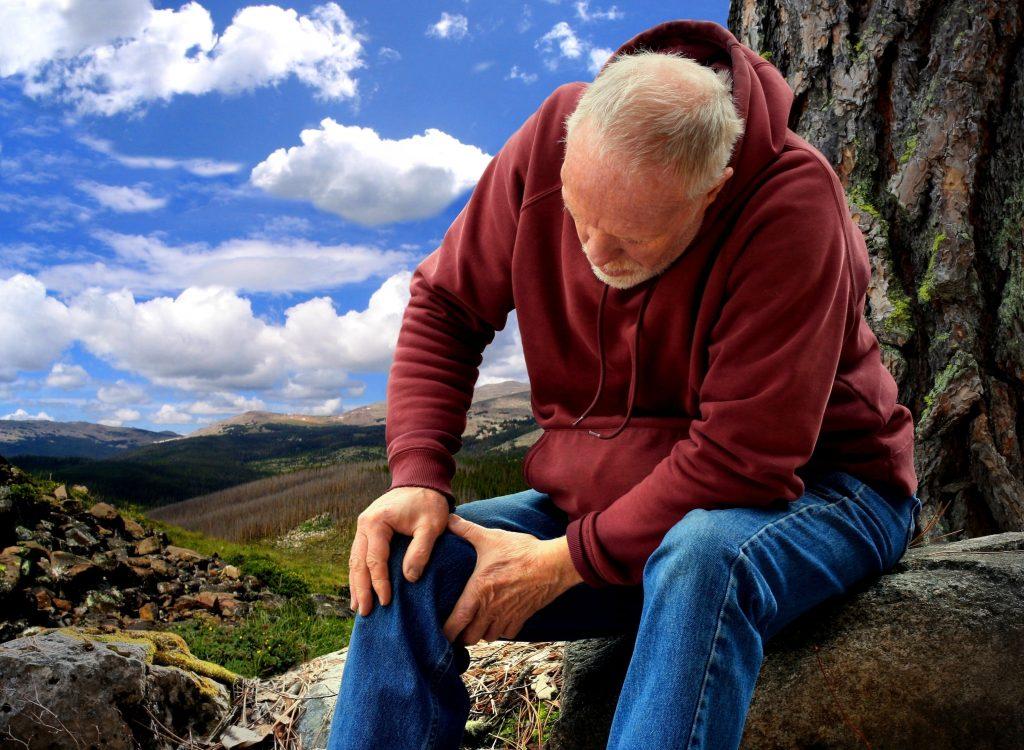 Old Man Knee Arthritis