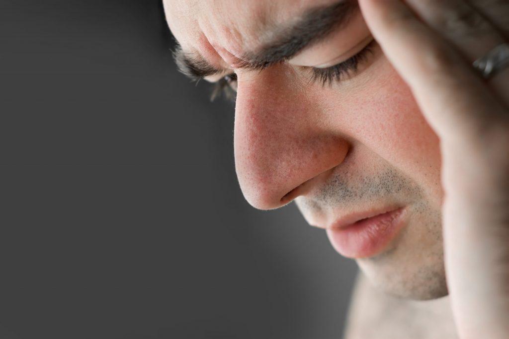 Man with Headaches